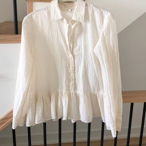 The Great Peplum Blouse, Size 0